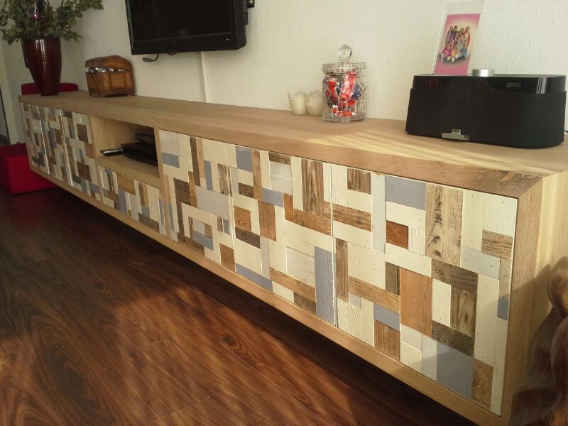 Tv meubel for Sloophout meubels